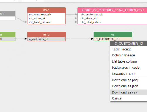 3 ways to capture data lineage in SQL and save it in CSV in just 1 minute